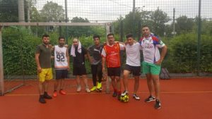 Wir spielen Fußball @ Sport zwischen Hallestraße und Gabesstraße