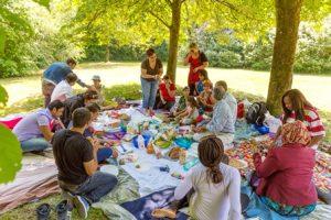 Picknick im Wasserwald @ Wasserwald Linz